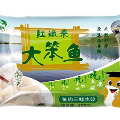 鱼肉三鲜水饺500G